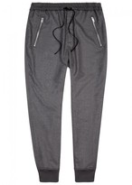 3.1 Phillip Lim Grey Wool Blend Jogging Trousers