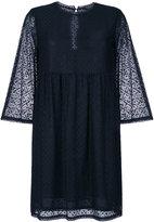 Twin-Set sheer flared dress