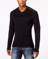 INC International Concepts Men's Multi-Textured V-Neck Sweater, Only at Macy's