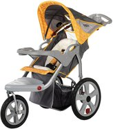 InStep Grand Safari Swivel Wheel Jogger, Gray/Yellow