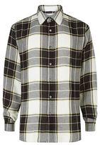 Public School Nyc Monochrome Checked Shirt
