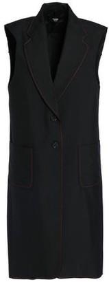 Versace Fringe-trimmed Twill Vest