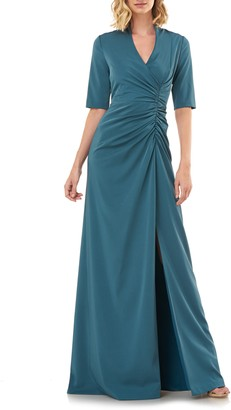 Kay Unger Ashley Ruched Gown