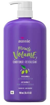Aussie Paraben-Free Miracle Volume Conditioner with Plum & Bamboo for Fine Hair - 30.4 fl oz