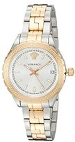 Versace Women's 'HELLENYIUM' Swiss Quartz Stainless Steel Casual Watch, Color:Two Tone (Model: V12030015)