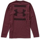 Under Armour HeatGear Long-Sleeve Back Graphic T-Shirt