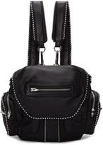 Alexander Wang Black Mini Ball Stud Marti Backpack