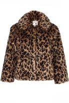 Yumi Leopard Print Jacket