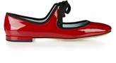 Marc Jacobs Lisa patent-leather ballet flats