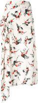 Marni patterned shift skirt - women - Silk - 42