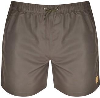 Les Deux Piece Swim Shorts Green