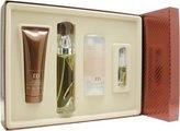 Perry Ellis M By For Men. Set-edt Spray 3.4 OZ & Aftershave Gel 3 OZ & Deodorant Stick 2.75 OZ & Eau De Toilette Spray .25 OZ Mini by