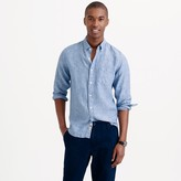 J.Crew Tall délavé Irish linen shirt