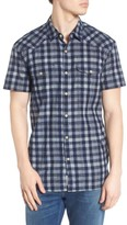 Lucky Brand Men's Check Western Shirt