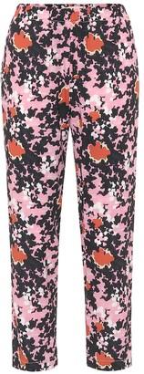 Marni High-rise floral pants