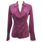 HUGO BOSS Purple Silk Top for Women