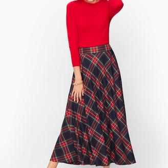 Talbots Plaid Skirt