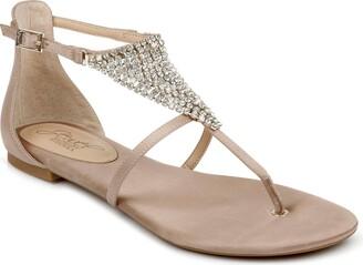 Badgley Mischka Nellis Embellished Sandal