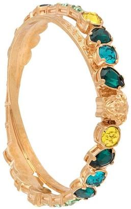 Versace Crystal Embellished Bangle