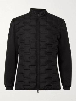 Nike Aeroloft Repel Jersey-Trimmed Quilted Shell Down Golf Jacket