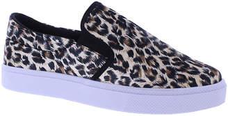 Maker's Women's Sneakers LEOPARD - Black & Brown Leopard Perla 3 Slip-On Sneaker - Women
