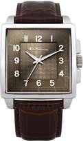 Ben Sherman Men's Quartz Watch with Dial Analogue Display and PU Strap BS028