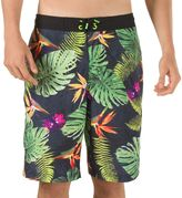 Speedo Men's Paradise Floral VaporPLUS Microfiber E-Board Shorts