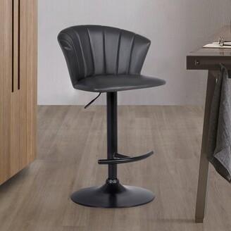 Ebern Designs Dauphin Adjustable Bar Stool