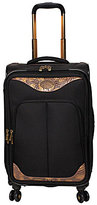 "Reba Croco Embossed 21"" Carry-On Expandable Spinner"
