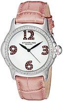 Stuhrling Original Women's 592.03 Vogue Analog Display Quartz Pink Watch
