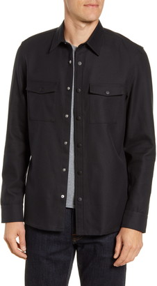 Nordstrom Fleece Shirt Jacket
