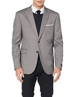 Burton Menswear London Men's Texture Skinny Fit Suit Jacket Grey 150, (Size:)