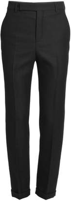 Saint Laurent Driot Pinstripe Trousers