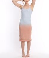 Pacifica Blue & Orange Ombré Nightgown
