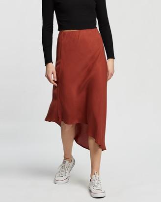 Silent Theory Promise Midi Skirt