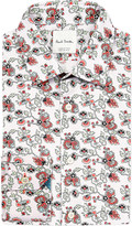 Paul Smith Floral-print slim-fit cotton shirt