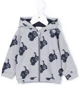 Paul Smith bunny print hoodie - kids - Cotton/Spandex/Elastane - 12 mth