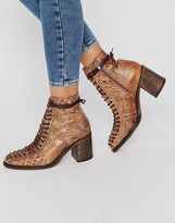 Free People Verrico Lace Up Leather Boots