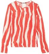 Proenza Schouler striped longsleeved T-shirt