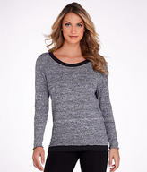 Hard Tail Open Back Knit Sweatshirt
