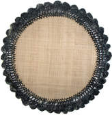 Mackenzie Childs Boheme Raffia Placemat, Black