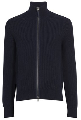 Tom Ford Zipped high neck cardigan
