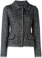 Dolce & Gabbana tweed jacket - women - Silk/Cotton/Nylon/Virgin Wool - 46