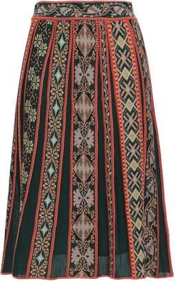 M Missoni Jacquard-knit Wool-blend Skirt