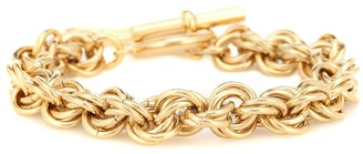 J.W.Anderson Gold-plated bracelet with T-bar fastening