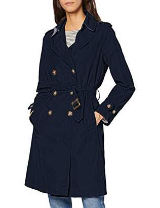 Benetton Women's Trench Coat with Belt,(Size:42)