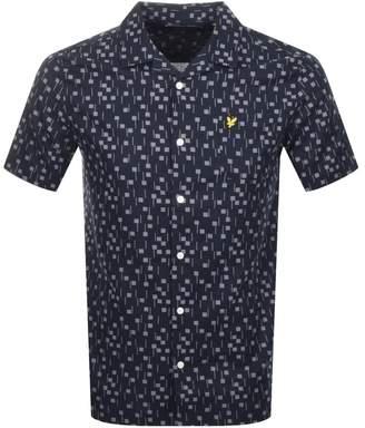 Lyle & Scott Short Sleeved Resort Shirt Navy
