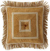 Sweet Dreams Loana Stripe Boutique Pillow with Bullion Fringe