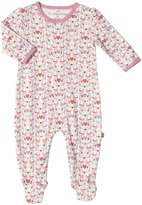 Magnificent Baby Love Birds Footie (Baby) - Pink-Newborn