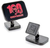Cufflinks Inc Gunmetal Chevrolet Centennial Cufflinks (GM-100-GM)